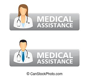 pikolak, medyczny, prośba, pomoc