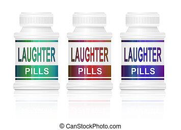 pills., śmiech