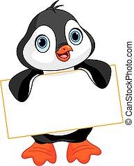 pingwin, znak