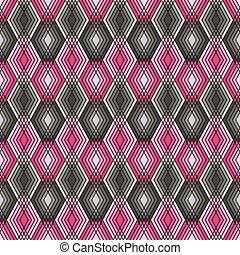 pink-grey, brylancik modelują, szkic