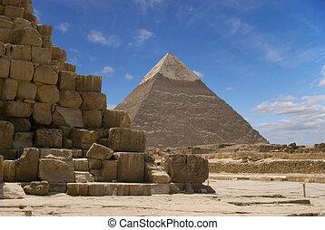 piramida, chefren
