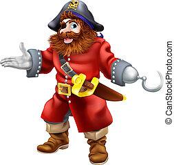 pirat, ilustracja