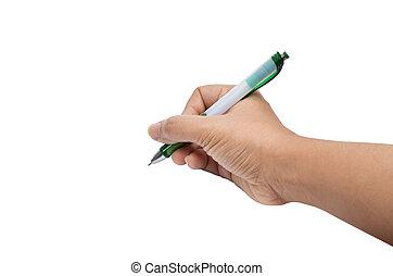 pisać, ręka