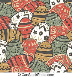 pisanki, pattern., seamless