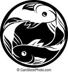 pisces, fish, horoskop, zodiak, znak