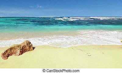 plaża, pętla, ocean