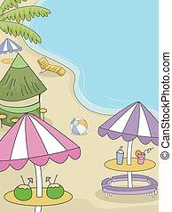plażowa partia