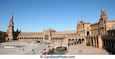 plac, espana, seville