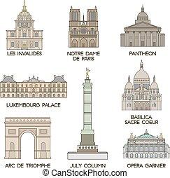 places., sławny, paryż