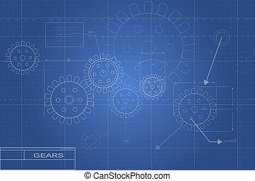 plan, przybory, ilustracja