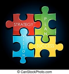 plan, strategia, handlowy