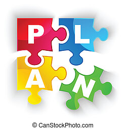 plan, zagadka, cień, isol, kawałki