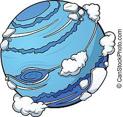 planeta, neptun