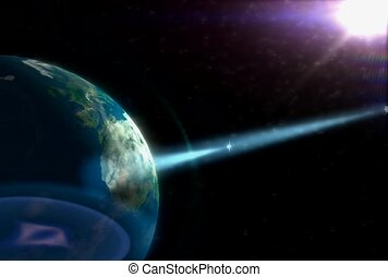 planeta, zewnętrzna przestrzeń, technologia