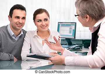 planowanie, konsultacja, finansowy