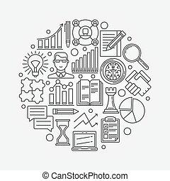 planowanie, strategia, handlowy