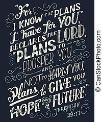 plany, wiedzieć, zacytować, mieć, biblia, ty