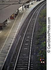 platforma, pociąg stacja