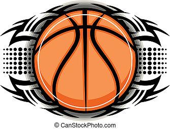 plemienny, koszykówka