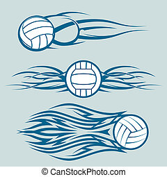 plemienny, volleyballs
