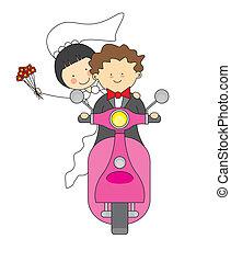 poślubne zaproszenie