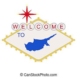 pożądany, cypr, znak