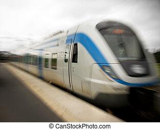 pociąg, commuter