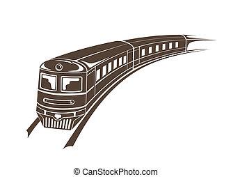 pociąg, nowoczesny
