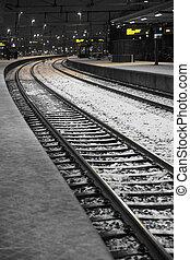 pociąg stacja