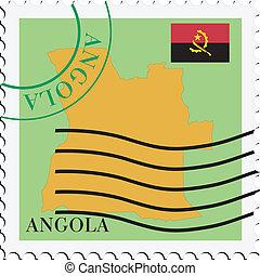 poczta, angola, to/from