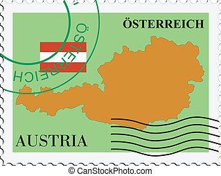 poczta, austria, to/from