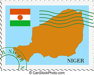 poczta, niger, to/from