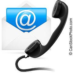 poczta, telefon