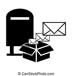 pocztowa służba, projektować