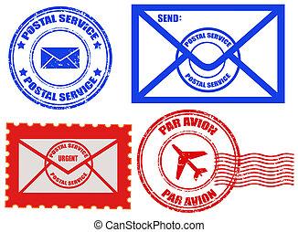 pocztowa służba