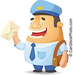 pocztowy pracownik
