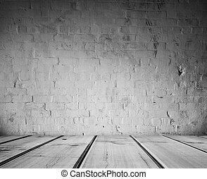 podłoga, ściana