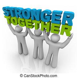podnoszenie, -, silniejszy, słówko, razem