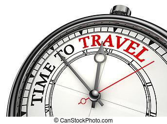 podróż, pojęcie, czasowy zegar