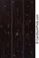 poduszeczki, wektor, drewno, tło, brązowy