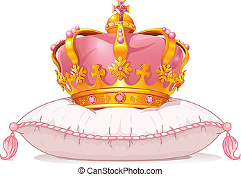 poduszka, korona