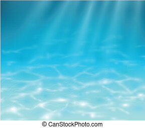 podwodny, tło