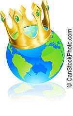pojęcie, świat, król