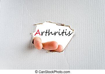 pojęcie, artretyzm