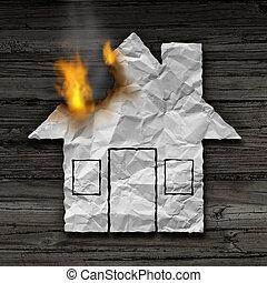 pojęcie, domowy ogień