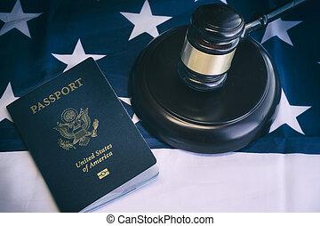 pojęcie, imigracja, na, im, prawny, prawo