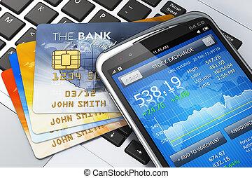 pojęcie, ruchomy, finanse, bankowość
