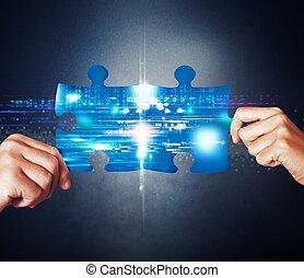 pojęcie, system, integracja