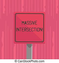pojęcie, tekst, znak, skwer, ostrożność, czysty, drogi, brzeg, barwny, dwa, pisanie, czarnoskóry, krzyż, więcej, połączenie, handlowy, wood., konny, atgrade, słowo, intersection., masywny, spotykać, 3d, gdzie, albo, droga