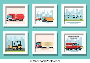 pojazd, plik, przewóz, doręczenie